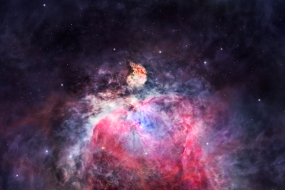 Space Nebula In Orion astrology planets