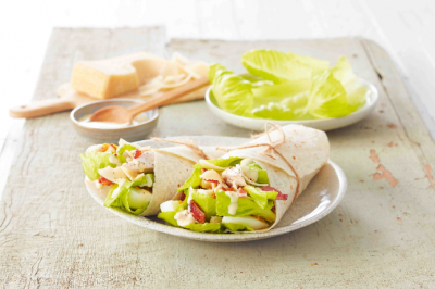 Grilled Chicken Caesar Salad Gluten-Free Wrap
