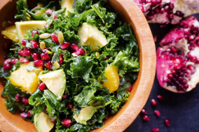Orange and Avocado Kale Salad Recipe