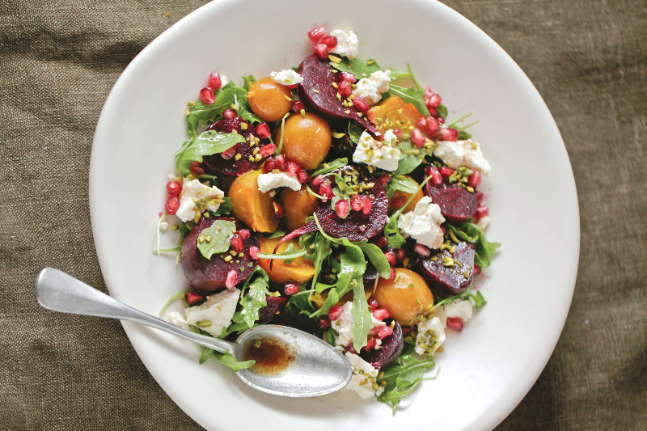 Beetroot Salad With Pomegranate & Pistachio
