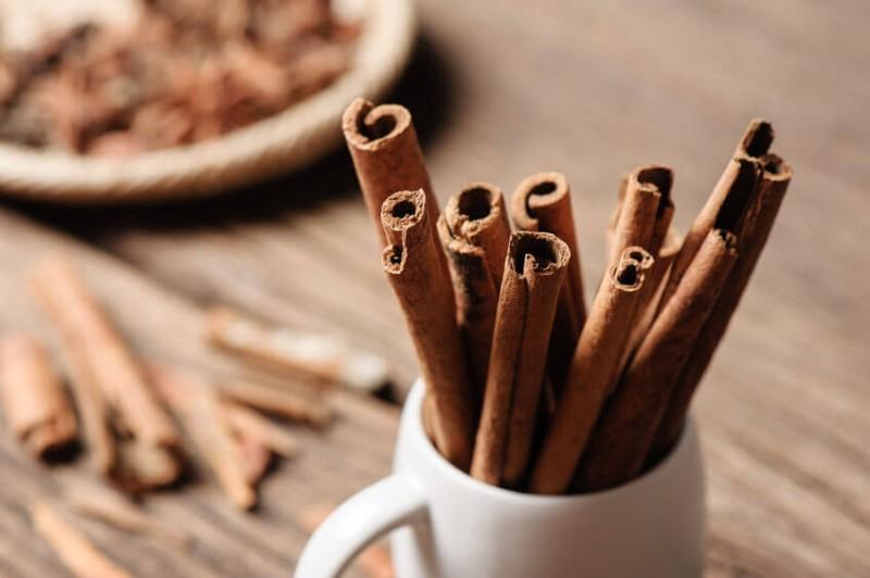 cinnamon sticks in white cup obesity