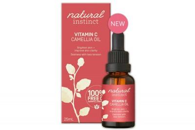 vitamin c + camellia oil