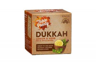 dukkah-lemon