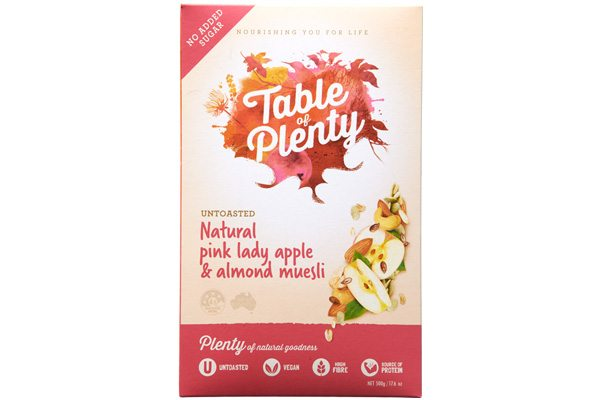 Natural Pink Lady Apple & Almond Muesli