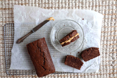 Chocolate Banana Bread Sandwich