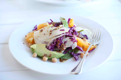 Fennel, Orange & Chickpea Salad