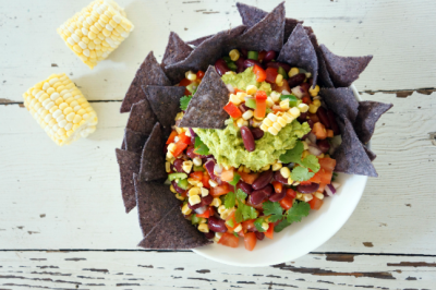 Blue Corn Tortilla Chip Salad Recipe
