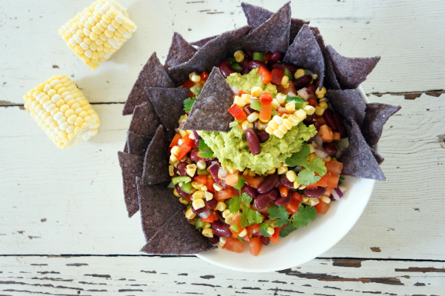 Blue Corn Tortilla Chip Salad Recipe