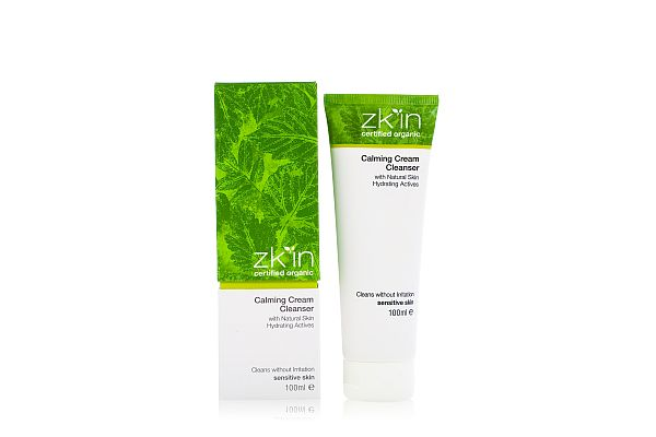 Zkin calming cream cleanser