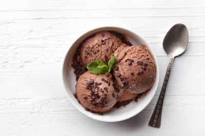Choc Mint Ice Cream Sponsor Recipes Nirvana Organics Stevia