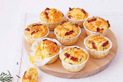 Cheese & Bacon Muffins Credit: Sponsor Recipes Magimix