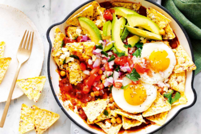 Breakfast Chilaquiles Verde Sponsor Recipes Cobs
