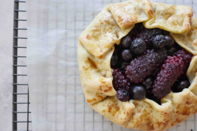 Blackberry and Blueberry Tart Recipe
