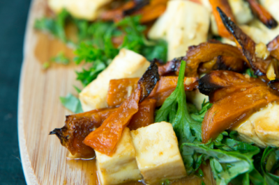 Miso, Tofu and Roast Pumpkin Salad Recipe