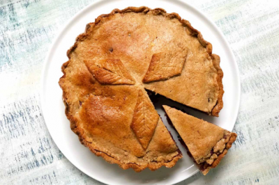 Wholefood Apple and Date Pie Recipe