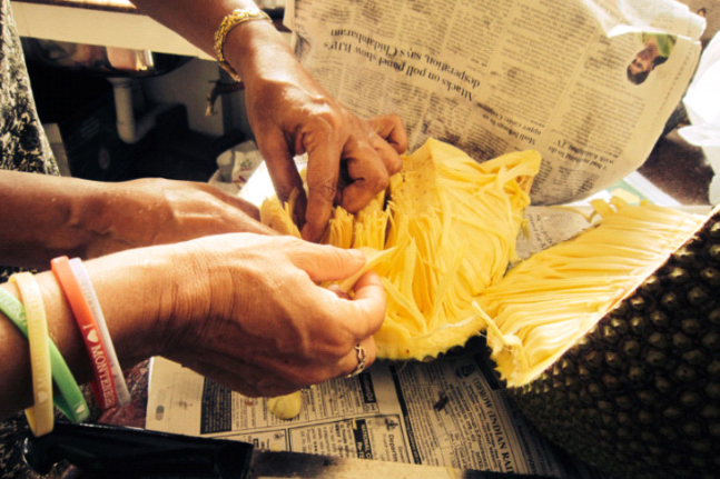 How to Dissect a Jackfruit