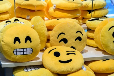 Smiley Face Pillows For Sale In Entertainment Store