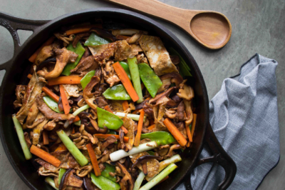 Gluten-free Mushrooms Stir-Fry Recipe for your Immune System