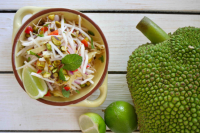 Healthy, gluten-free and vegetarian Jackfruit Salad Recipe