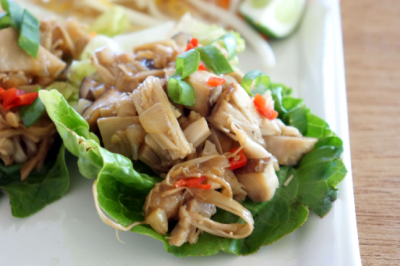 Pulled Jackfruit San Choy Bau Recipe