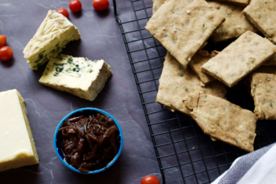 Gluten-free Vegetarian Cheese Ploughman's Board Recipe