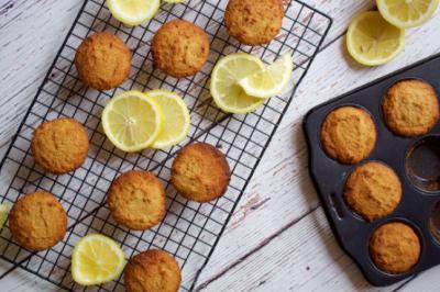 Gluten Free Delicious Lemon Cakes