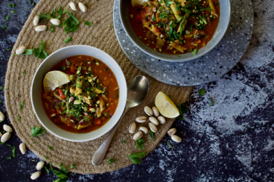 Moroccan Minestrone Soup Recipe