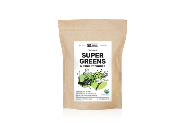 Super Greens Cricket Powder
