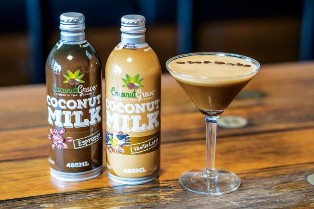 Coco-Espresso Martini