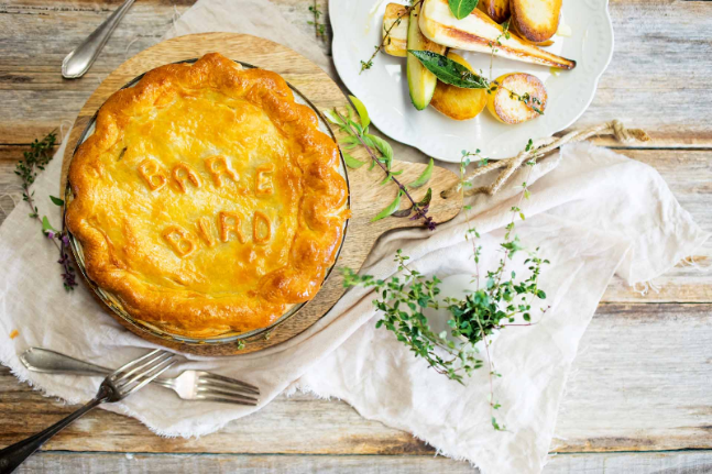 The Bare Bird Chicken & Leek Pie