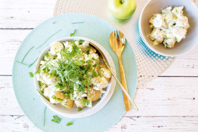 Healthy and Delicious Yoghurt Potato Salad Recipe