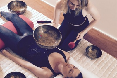 We dive deep into the vibrations of sound healing to find balance and ease