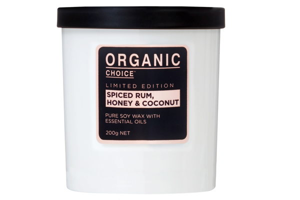Limited Edition Pure Soy Candle (spiced Rum, Honey & Coconut)