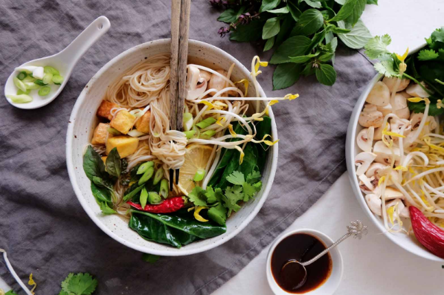 Vegan, Healthy and Gluten-free Pho Chay Recipe for the whole family