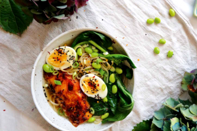 Healthy and Delicious Chilli Miso Salmon Ramen Recipe