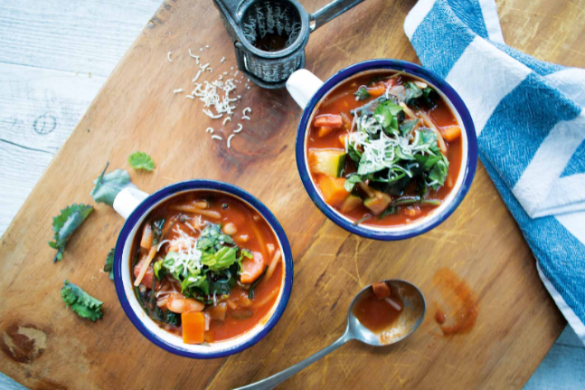 Healthy Winter Minestrone Recipe for the whole family