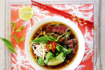 Gluten-free Paleo Vietnamese Beef Pho Recipe for the family