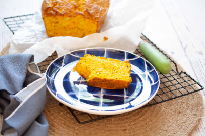 Gluten-free Healthy Turmeric Vegetable Loaf Recipe