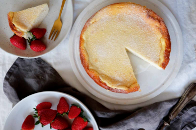 White Chocolate, Ricotta and Cardamom Cheesecake Recipe