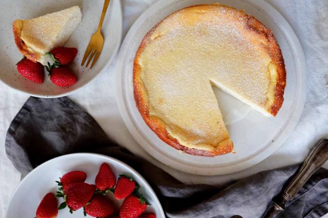 White Chocolate, Ricotta and Cardamom Cheesecake Recipe