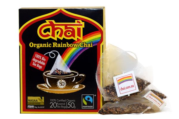 Organic Rainbow Chai Teabags