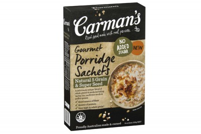 Natural 5 Grain & Super Seed Gourmet Porridge Sachets