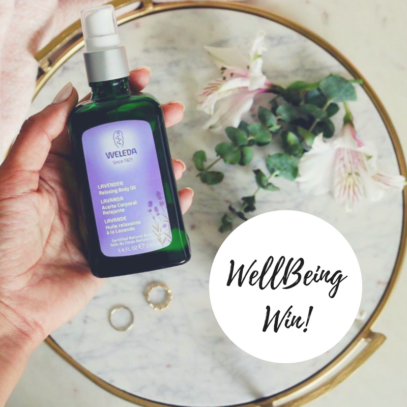 WIN 1 of 10 Weleda Lavender Relaxing Body Oils