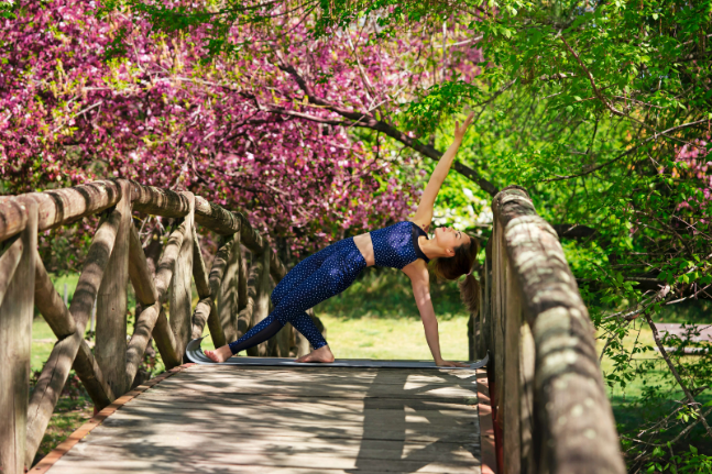 Welcome spring with a balancing and brightening yoga sequence