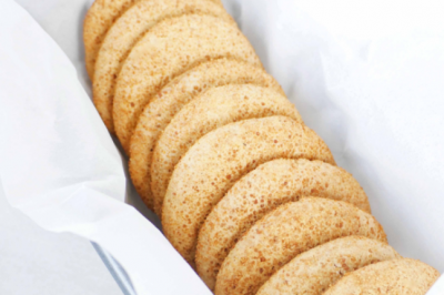 Gluten-free, Delicious and Healthy Ginger Cookies Recipe