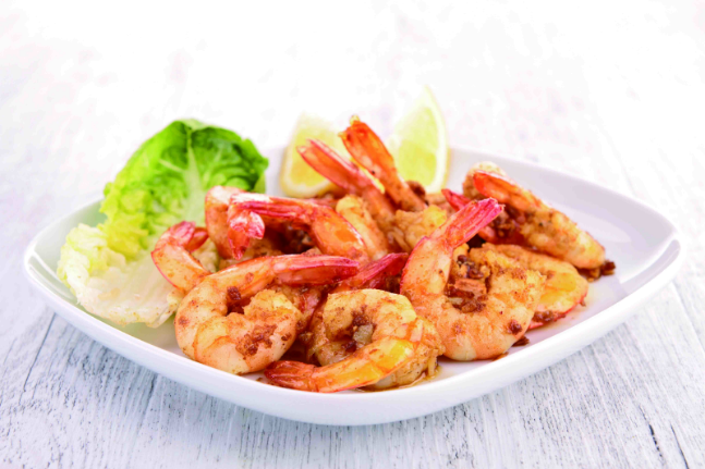 Braised Shrimp with Curry Sauce