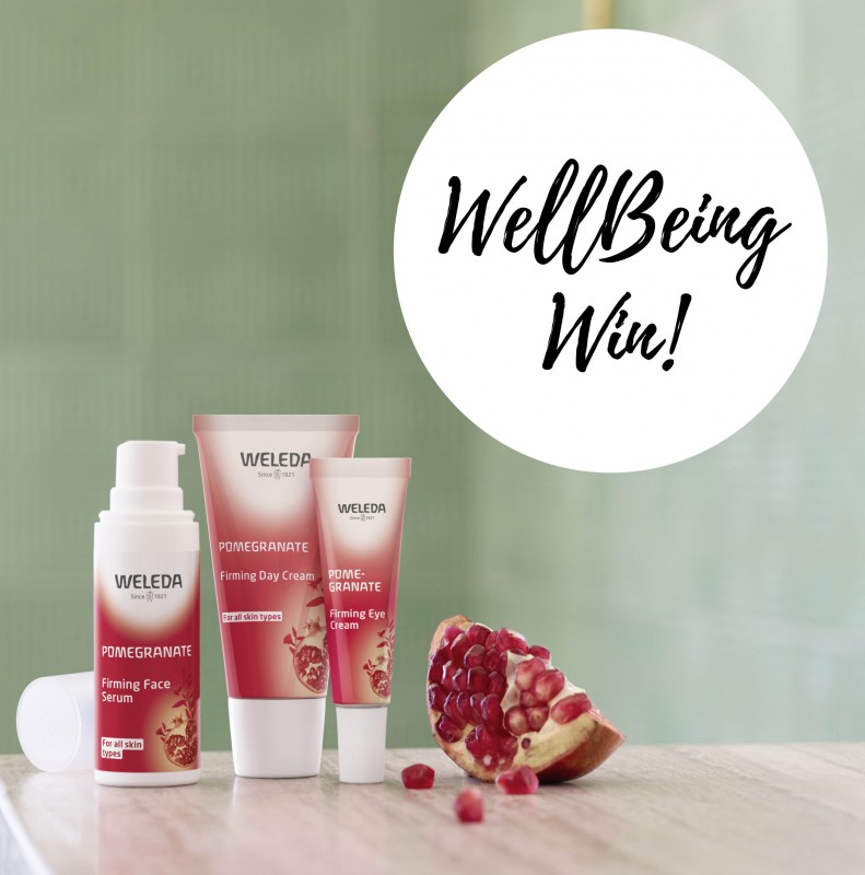 WIN 1 of 5 Weleda Pomegranate Firming Facial Care gifts