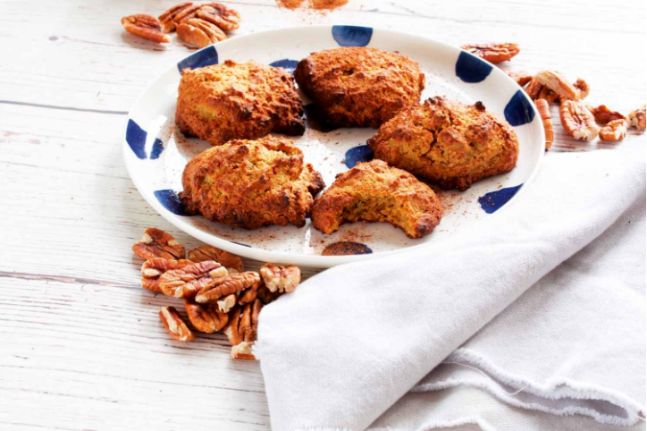 Gluten-free Healthy and Delicious Salted Pecan Cookie Recipe