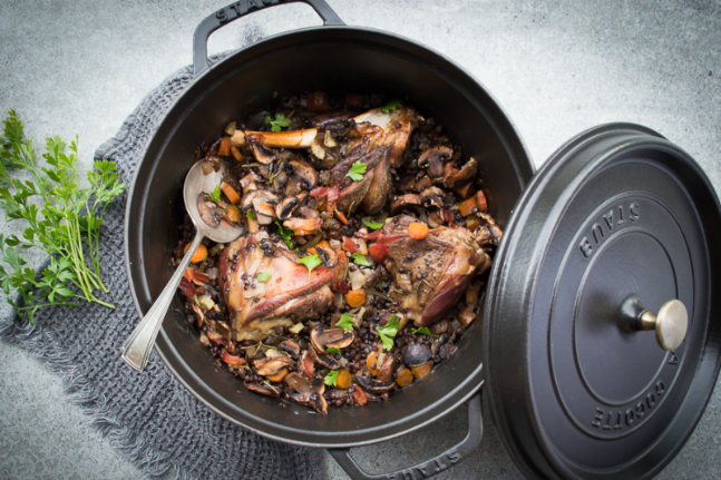Healthy Lamb Shanks, Bacon and Lentil Pot Recipe