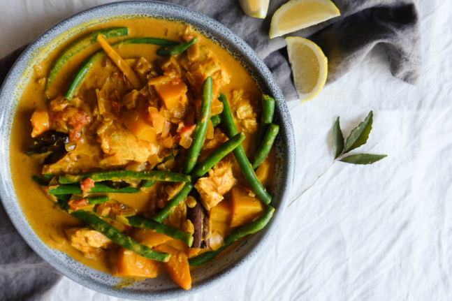 Gluten-free Chicken Curry with All the Spices Recipe